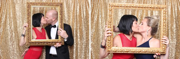 The Downtown Club wedding photo booth