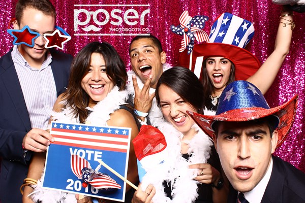 Bold Night E vent - 2016 DNC - Philly photo booth
