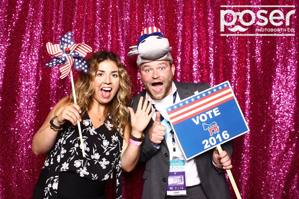 Bold Night E vent - 2016 DNC - Philly GIF booth