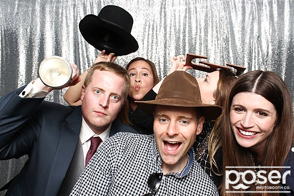 "alt=""fall wedding photo booth"""