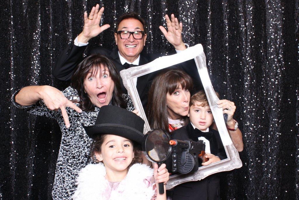 Barnes Foundation wedding Photo booth